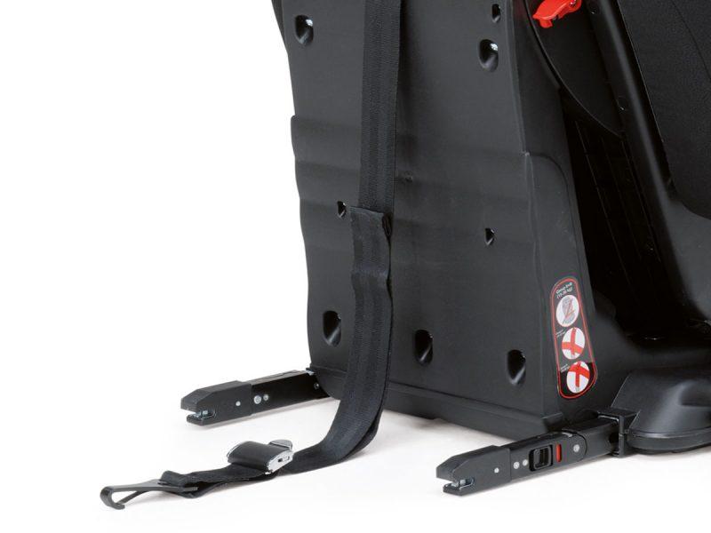 Santorini hire safe car seat