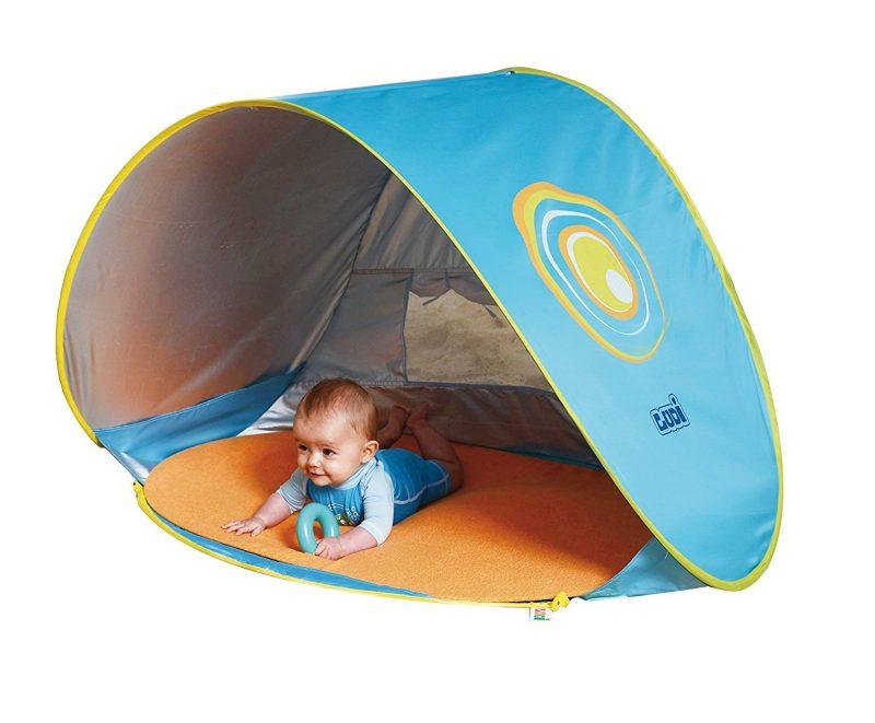 Rent baby beach tent in Santorini