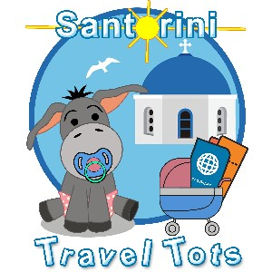 Santorini Travel Tots rent gear for baby