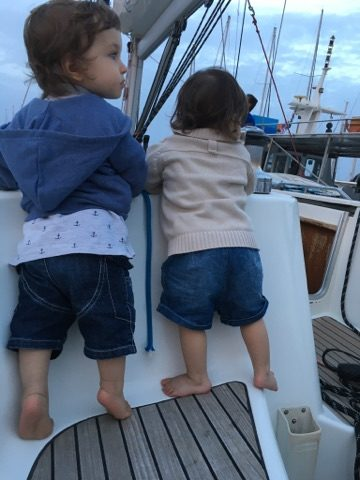Babies on board sailing tours barca sailing