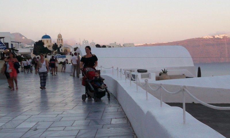 Is Santorini stroller friendly?