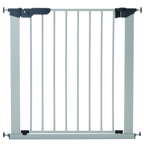 BabyDan Premier Indicator Stair Gate Pressure Fit 73 - 80 cm silver