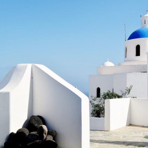 Santorini with a baby or toddler list of the 5 Top Frequently Asked Questions
