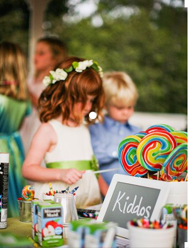 Toy Corner for weddings and other ceremonies aimed at ages 1-5